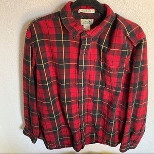 LL Bean Traditional Fit Flannel